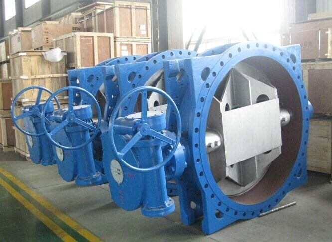 Double-eccentricity Butterfly Valve